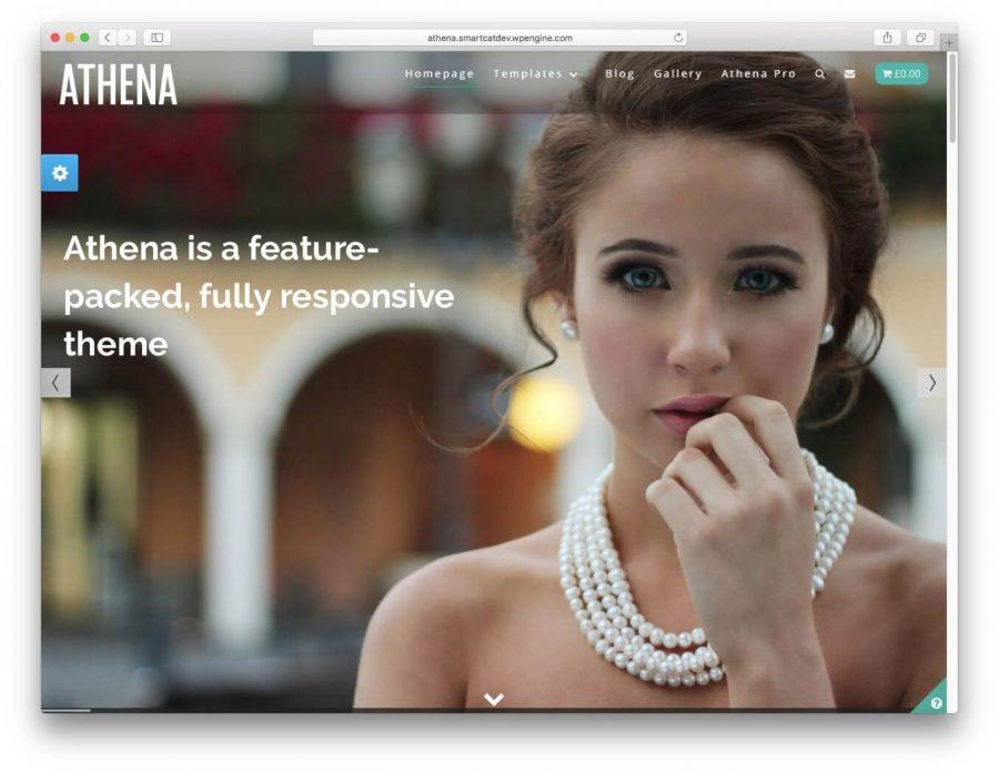 Athena Demo page